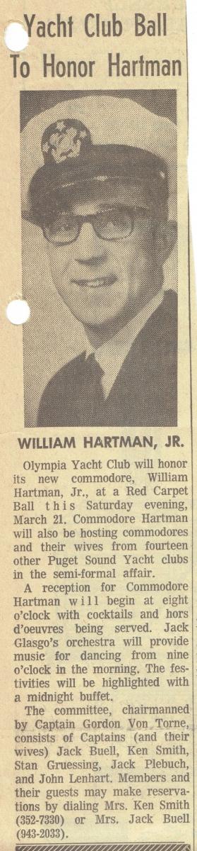 1970 Yacht Club Ball