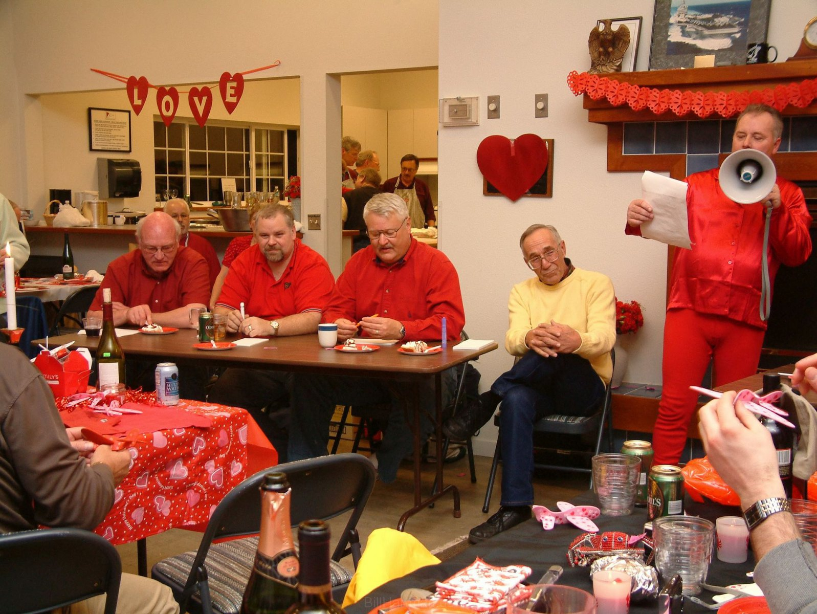 February 2008 -- Valentine's Party