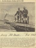 April 1968 OYC Boat Parade