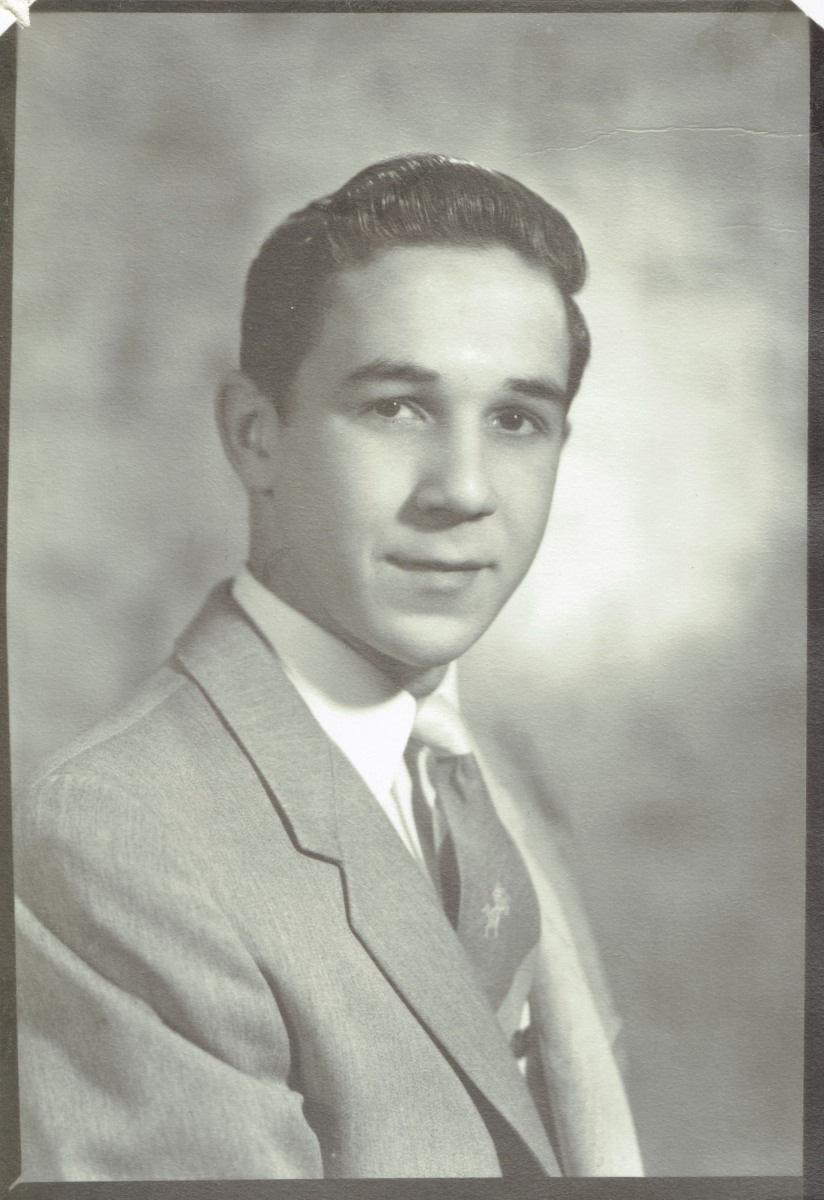 1956 :: Beginning of High School, Senior Year