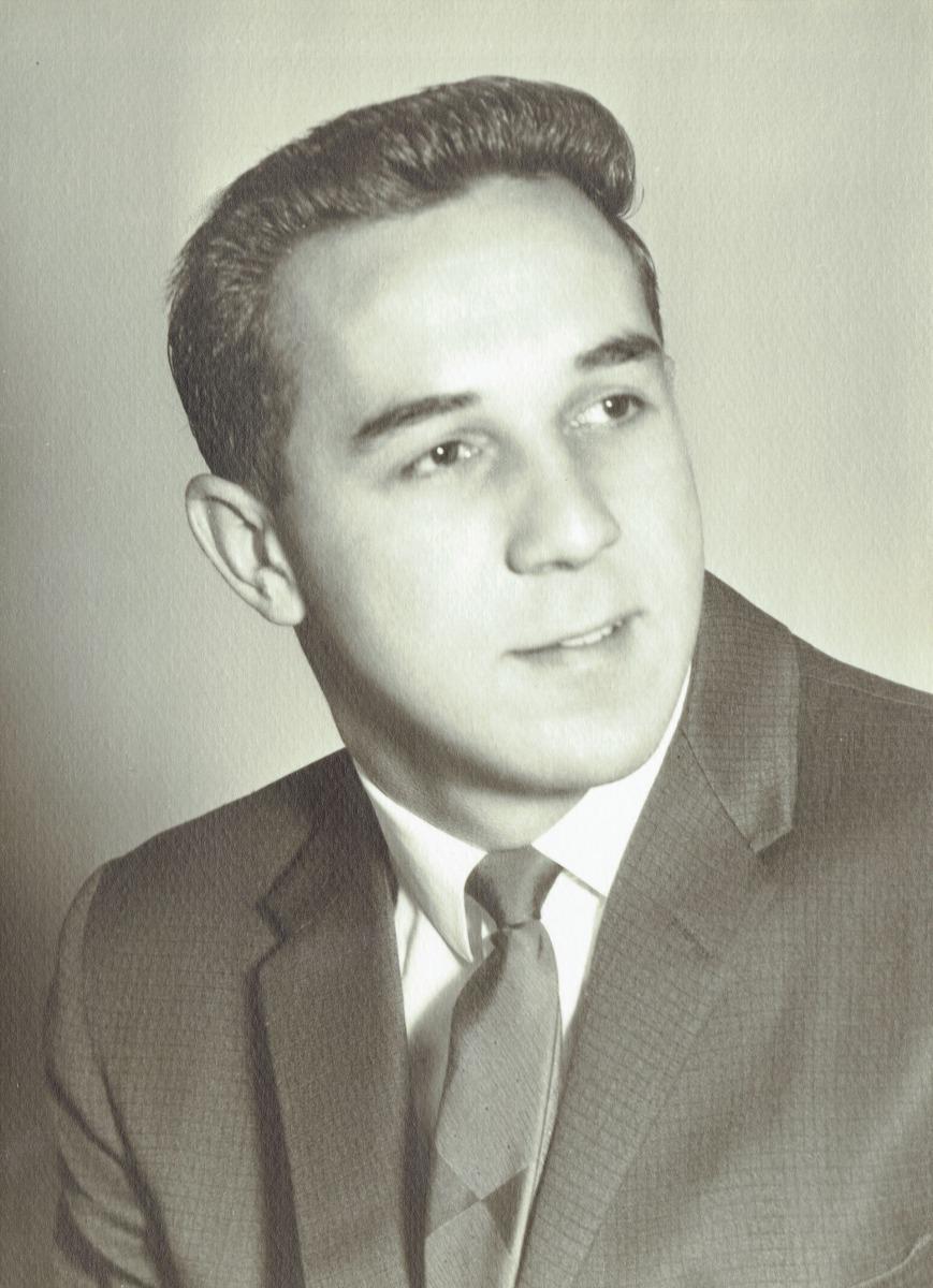 1957 :: End of Senior Year High School Photo