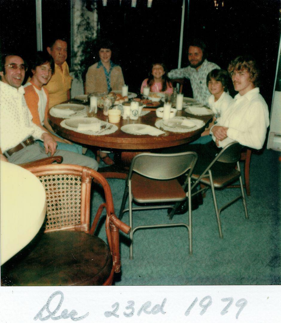 1979 Family Dinner