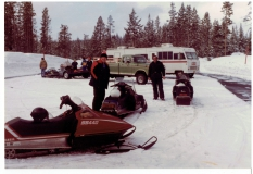 1976 Snowmobiling Uncle Tom and Bill