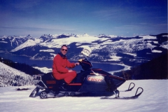 1976 (Approx) Bill on Snowmobile